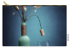 Carry-all Pouch featuring the photograph Wine Cork Bouquet by Tom Mc Nemar