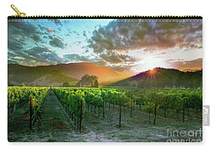 Wine Country Carry-all Pouch by Jon Neidert