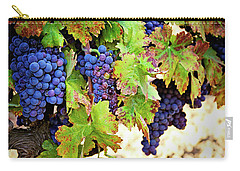 Wine Country - Napa Valley California Photography Carry-all Pouch by Melanie Alexandra Price