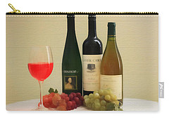 Wine Display Barn Door  Carry-all Pouch by Dan Sproul