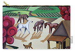 Wine Farm Carry-all Pouch