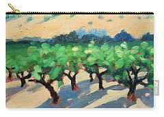 Carry-all Pouch featuring the painting Wine Habitat by Gary Coleman