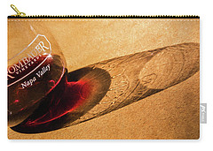 Wine Legs Of Napa Valley Carry-all Pouch