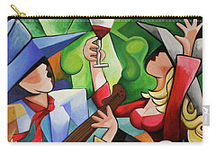 Wine Party Carry-all Pouch by Lance Headlee