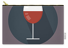 Wine Poster Print - It's Winesday Carry-all Pouch