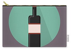 Wine Poster Print - Win And Wine Carry-all Pouch