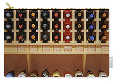 Carry-all Pouch featuring the photograph Wine Rack - 1 by Nikolyn McDonald