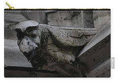 Winged Gargoyle Carry-all Pouch by Christopher Kirby