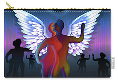 Winged Life Carry-all Pouch by Rosa Cobos