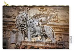 Winged Lion Piazza Delle Erbe Verona  Carry-all Pouch