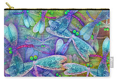 Wings Large In Square Format Carry-all Pouch by Teresa Ascone