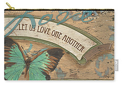 Wings Of Love Carry-all Pouch