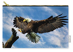 Wings Outstretched Carry-all Pouch