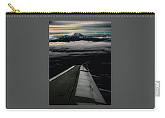 Carry-all Pouch featuring the photograph Wings Over Rainier by Jeffrey Jensen