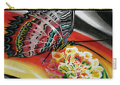 Carry-all Pouch featuring the painting Transforming Winds     by Peter Piatt
