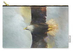 Wingspan Bald Eagle Art Carry-all Pouch