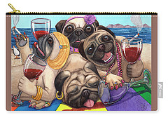 Wining Pile Of Pugs Carry-all Pouch