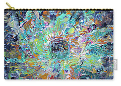 Carry-all Pouch featuring the painting Winners And Losers by Fabrizio Cassetta