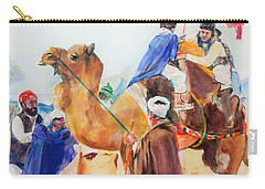 Winning Celebration Carry-all Pouch by Khalid Saeed