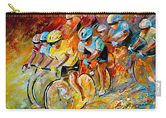 Winning The Tour De France Carry-all Pouch