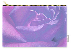 Winsome Rose 1 Carry-all Pouch by Will Borden