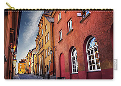 Carry-all Pouch featuring the photograph Winsome Warsaw  by Carol Japp