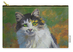 Winston Cat Portrait Carry-all Pouch