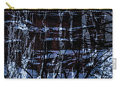 Winter Abstract Carry-all Pouch