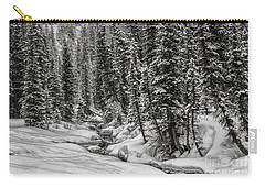 Winter Alpine Creek II Carry-all Pouch