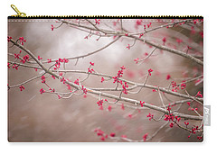 Carry-all Pouch featuring the photograph Winter And Spring by Terry DeLuco