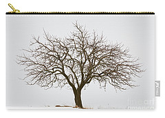 Winter Apple Tree Carry-all Pouch
