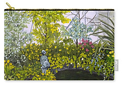Winter At Allan Gardens Carry-all Pouch by Diane Arlitt
