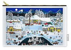 Winter At Black Butte Carry-all Pouch