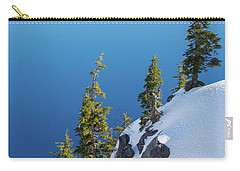 Winter At Crater Lake Carry-all Pouch
