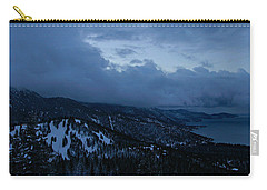 Carry-all Pouch featuring the photograph Winter At Diamond Peak by Sean Sarsfield
