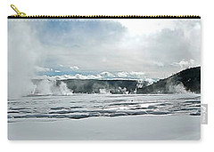 Winter At Grand Prismatic Carry-all Pouch