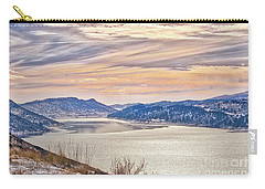 Winter At Horsetooth Reservior Carry-all Pouch