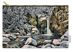 Winter At Kinsman Falls Carry-all Pouch
