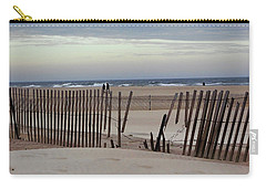 Winter At The Beach Carry-all Pouch