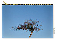 Winter At The Crabapple Tree Carry-all Pouch
