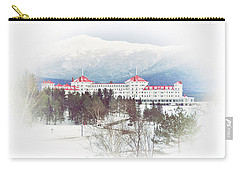 Winter At The Mt Washington Hotel 2 Carry-all Pouch