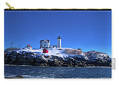 Winter At The Nubble Lighthouse - York - Maine IIi Carry-all Pouch