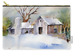 Winter Barn Carry-all Pouch by P Anthony Visco
