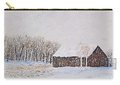 Winter Barn Carry-all Pouch by Stanton Allaben