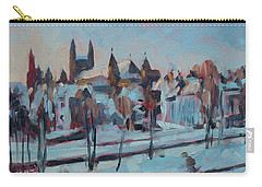 Winter Basilica Our Lady Maastricht Carry-all Pouch