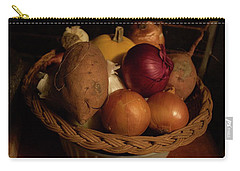 Winter Basket Carry-all Pouch