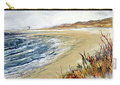 Winter Beach At Race Point Carry-all Pouch