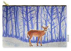 Winter Begins Carry-all Pouch