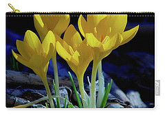 Winter Bloom Carry-all Pouch