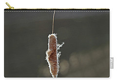 Winter Cattail  Carry-all Pouch